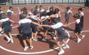 Educación física en las escuelas