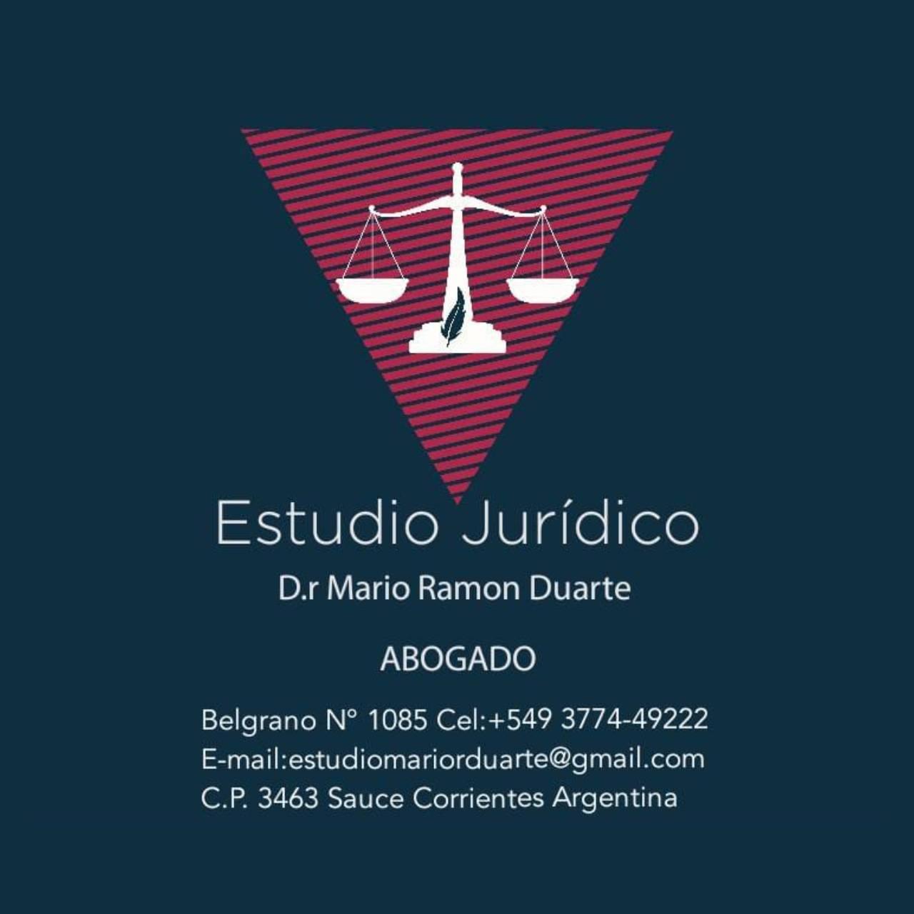 Estudio Jurídico Mario Ramón Duarte
