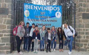 Olimpiadas Matemática Ñandú. Encuentros para soñar y creer!!! Competencia que incentiva a los jóvenes a descubrir sus aptitudes y talentos.